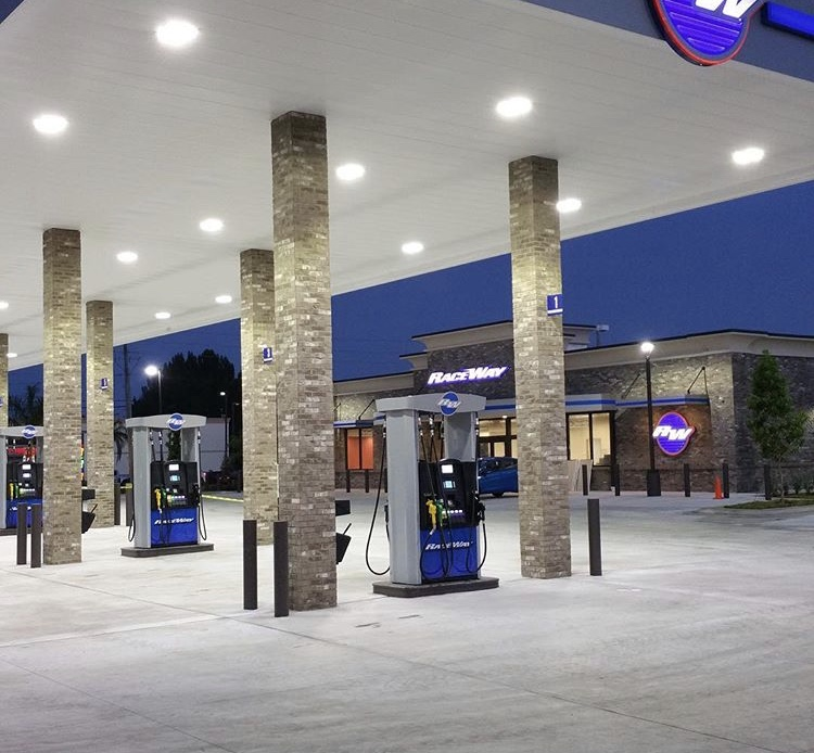 Image result for petrol station design and construction